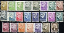 TURKEY 1943 - Mi.1134-1154 Overcompl. (shades) MNH (postfrisch) Perfect (VF) - 1921-... Republic