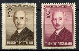 TURKEY 1948 - Mi.1215-1256  MNH (postfrisch) Perfect (VF) - 1921-... République