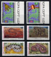 TURKEY 1991 - Mi.2921-2922 And 2938-2941 MNH (postfrisch) Perfect (VF) - 1921-... Republik