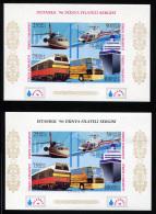 TURKEY 1996 - Mi.Bl.32B A+b MNH (postfrisch) Perfect (VF) - 1921-... Repubblica