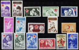 TURKEY 1942-43 - Mi.67-81A MNH (postfrisch) Perfect (VF) - 1921-... République