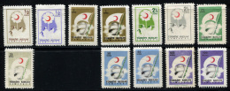 TURKEY 1957 - Ex Mi.222-228 Incl. Shades And Types MNH  (postfrisch) Perfect (VF) - 1921-... Repubblica