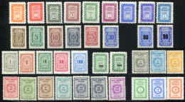 TURKEY Official 1960-65 - Mi.69-102 Overcompl. MNH (postfrisch) Perfect (VF) - 1921-... Repubblica