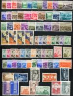 TURKEY 1958 Overcompl. - Mi.1539-1615 MNH (postfrisch) VF - Annate Complete