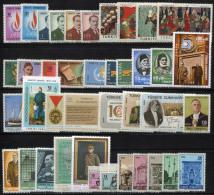 TURKEY 1968 Compl. - Mi.2080-2119 MNH (postfrisch) VF - 1921-... Repubblica