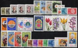 TURKEY 1980 Compl. - Mi.2508-2539 MNH (postfrisch) VF - 1921-... Republik