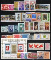 TURKEY 1981 - Mi.2540-2588 (no Bl.19) MNH (postfrisch) VF - 1921-... Republik