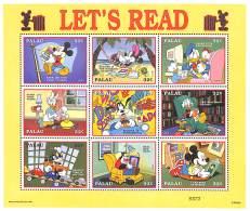 NN - PALAU - Walt Disney - Lisons Avec Mickey, Minnie, Donald, Daisy, Dingo, Picsou, Riri, Fifi Et Loulou - Disney
