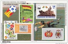 Bolivia Hb Michel 120 - 1982 – Espagne