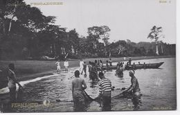 Guinée Equatorial - Sta. Isabel - Fernando Póo - Pescadores. - Guinea Ecuatorial
