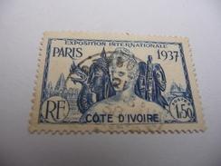 TIMBRE   COTE-D'IVOIRE       N  138      COTE  2,50  EUROS    OBLITERE - Oblitérés