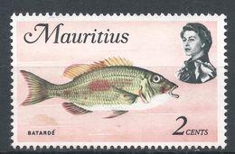 Mauritius 1969. Scott #339 (MNG)  Batardé Fish, Poisson - Maurice (1968-...)