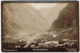 GOESCHENEN UR 1897 Photographicum Photoglob - UR Uri