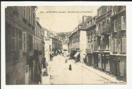 23 . AUBUSSON . EXTREMITE DE LA GRAND'RUE - Aubusson