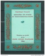 France Carnet Croix Rouge De 1964  Oblitéré Cachet Croix Rouge - Croce Rossa