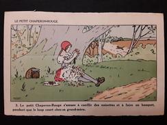 CPA ILLUSTRATEUR Gayac Le Petit Chaperon Rouge Gallais Et Cie éditeurs, 38, Rue Vignon. Paris - Künstlerkarten