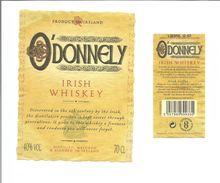"Etiquette De WHISKEY IRLANDAIS "" O'DONNELY "" - Whisky"