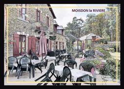 44  MOISDON  La  RIVIERE  .. Le Restaurant ... Aux Forges - Moisdon La Riviere
