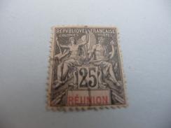 TIMBRE   REUNION       N  39      COTE  4,00  EUROS    OBLITERE - Réunion (1852-1975)