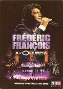 DVD Frédéric François à L'Olympia 2005 Avec Bonus - Spectacle Live - Neuf - Musik-DVD's