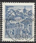 Austria Lotto N. 3780 Del 1962-70 Yvert N.955B Usato - 1961-70 Used