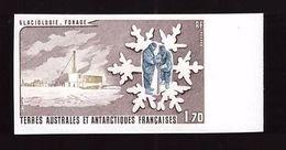 TAAF Essai De Couleur Non Dentelé Y&T N° 103 1984 Neuf ** - Imperforates, Proofs & Errors
