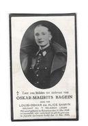 Doodsprentje Gesneuvelde 40-45 Oskar-Maurits Bagein Roeselare 31/05/1920 +Juprelle 11/05/1940 - Devotion Images