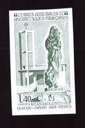 TAAF Essai De Couleur Non Dentelé Y&T N° 96 1984 Neuf ** - Imperforates, Proofs & Errors