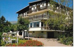 """38 -  VILLARS De LANS - HOTEL RESTAURANT """"LE PRE FLEURI"""" M;CACH  Date 1986  Ref 3.27.85.1400  COMBIER CIM à MACON - Villard-de-Lans"""