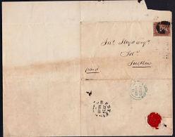 I0016 GREAT BRITAIN 1848, Prestatyn Cover To Ludlow - 1840-1901 (Victoria)