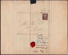 I0017 GREAT BRITAIN 1848, Wolverhampton Cover To Ludlow - 1840-1901 (Victoria)