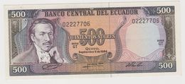 EQUATEUR 500 Sucres 1984 P124a AU-UNC - Equateur