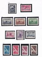 POLOGNE 1948 ANNIVERSAIRES TOUR CYCLISTE  JOURNEE DE LA MARINE EXPO  513 515/6 518 A 520 **MNH 514 517  521 A 524 MH - Ungebraucht