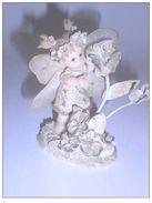 DG010 - Décoration Miniature Ange Et Fleur - Personnages