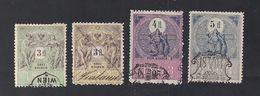 4 Austria Revenue 2x 3, 4 + 6 Fl. 1893 - Steuermarken