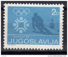 Yugoslavia,For WOG-Sarajevo '84 1983.,MNH - 1945-1992 Socialist Federal Republic Of Yugoslavia