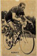 Document Ancien Sport Cyclisme Coureur Cycliste Miroir Sprint 13 X 8,5 KOBLET - Cycling