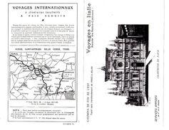 Dépliant, Brochure, Chemin De Fer De L'est, Route Gothard, Paris - Rome, Voyage En Italie, Horaire - Europe