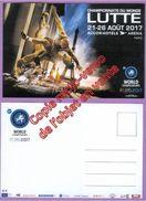 Carte Postale Des Championnats Du Monde De Lutte 21-26 Août 2017 à Paris - Sport Olympique - Lutte