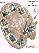 25937. Gran Tarjeta Homenaje A PICASSO, Pintura. Barcelona 1978.  Barnafil 78 - 1931-Hoy: 2ª República - ... Juan Carlos I