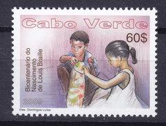 Cape Verde 2009 Mi. 941    60 E Louis Braille Blindenarbeit MNH** - Kap Verde