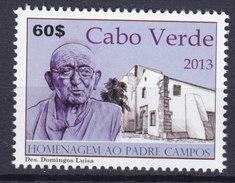 Cape Verde 2013 Mi. ????    60 E Padre Campos MNH** - Islas De Cabo Verde