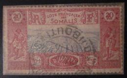 Cote Française Des Somalis - YT 169 Obl - Oblitérés