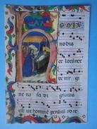Abbazia Abbey Di Downside - Contea Somerset - Antifonario Notturno Dei Servi Di Maria Di Vicenza - La Natività - England