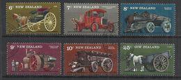 NEW ZEALAND 1976 - VINTAGE FARM TRANSPORT - CPL. SET - USED OBLITERE GESTEMPELT USADO - Transports