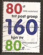 Pays-Bas Netherlands 1998 TNT Post Set Complete Obl - Used Stamps