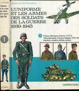 Funcken Tome 1 L'uniforme Et Les Soldats De La Guerre 1939-1945 Casterman - Geschichte