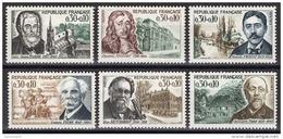 FRANCE 1966 -  SERIE Y.T. N° 1470 A 1475 - 6 TP NEUFS** - France