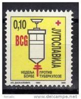 Yugoslavia,TBC 1994.,MNH - 1992-2003 République Fédérale De Yougoslavie