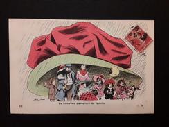 CPA Illustrateur Xavier SAGER - Le Nouveau Parapluie De Famille - - Sager, Xavier